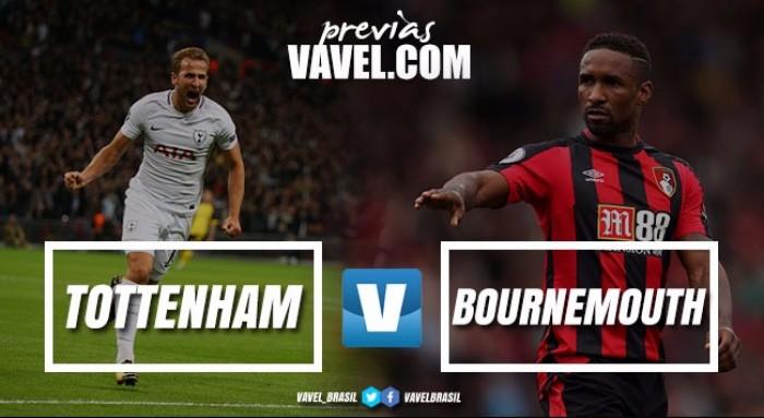 Tottenham trava duelo com Bournemouth almejando se aproximar de líderes do Inglês