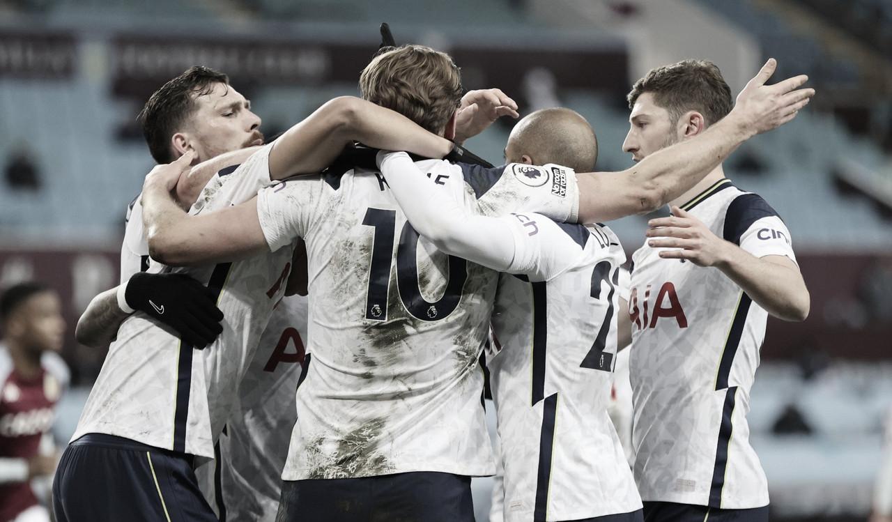 El Tottenham se desmonta por momentos