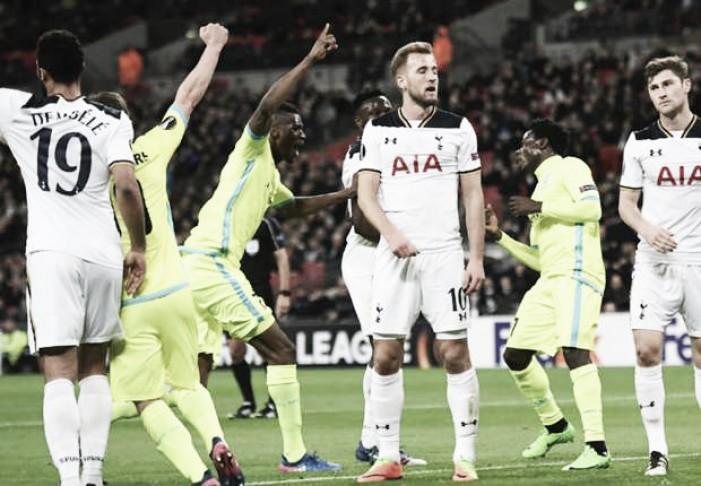 Europa League - Il Tottenham non va oltre il 2-2 con il Gent e viene eliminato