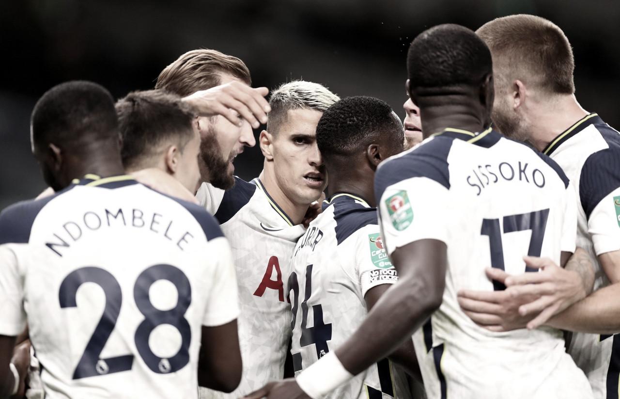 El Tottenham vence al Chelsea en los penaltis, y pasa a los cuartos de final de la Carabao Cup