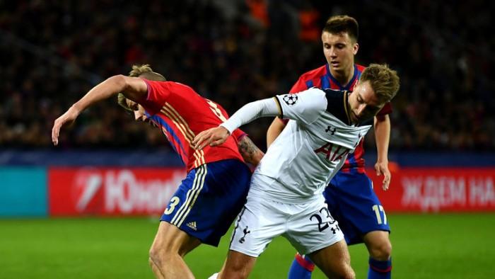 Tottenham - CSKA (3-1) in Champions League 2016/17. Akinfeev condanna il CSKA!