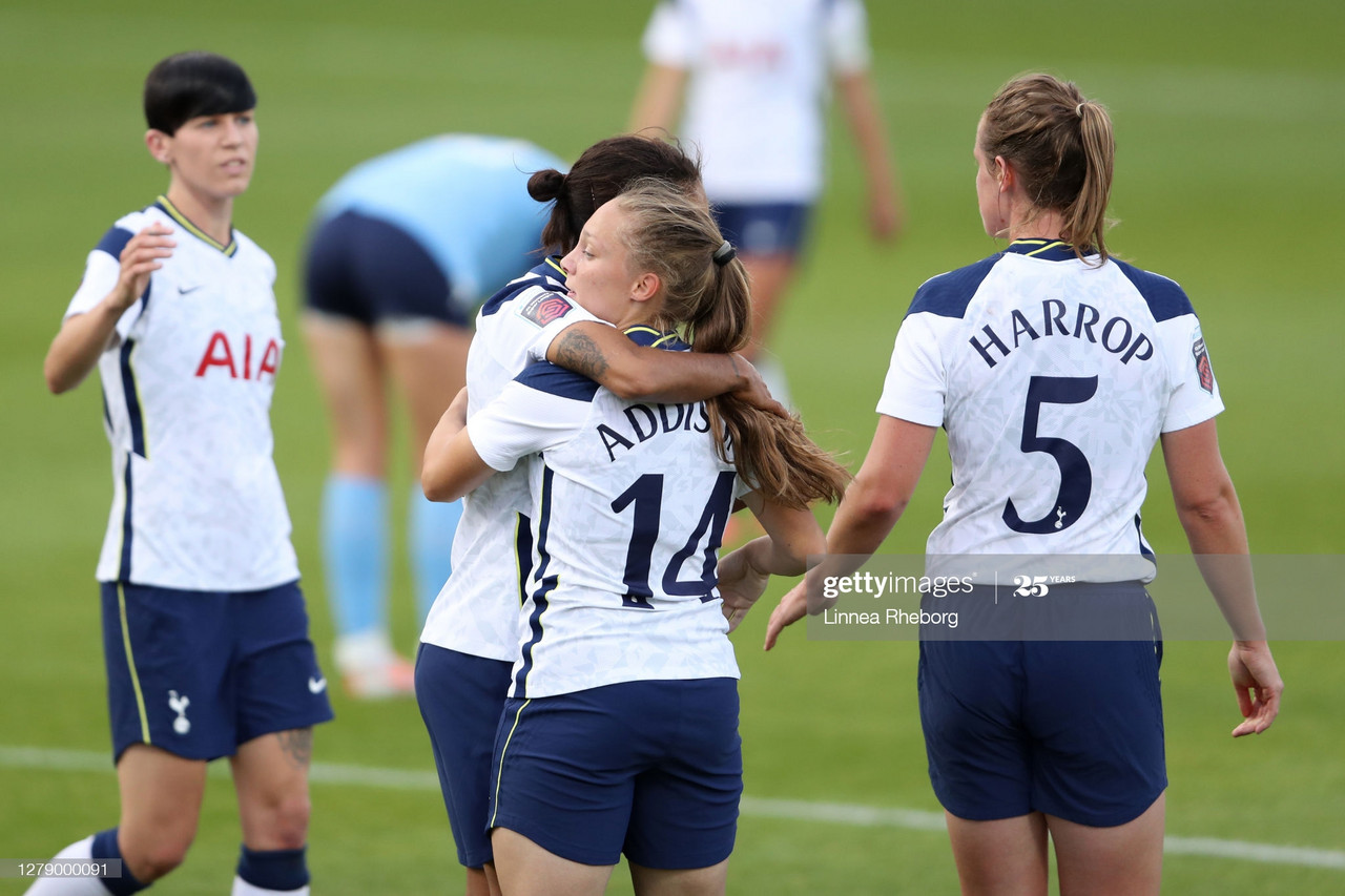 Tottenham 4-0 London City: Spurs cruise past London City Lionesses to secure first win
