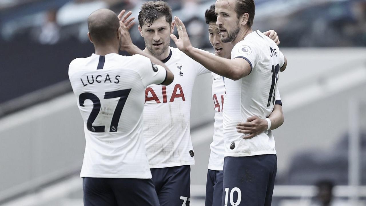 Harry Kane comanda un nuevo triunfo del Tottenham
