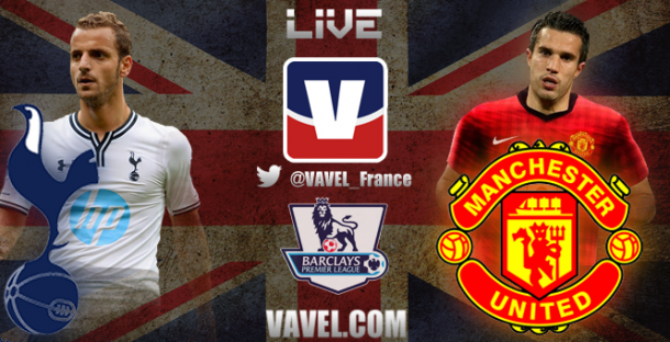 Live Tottenham - Manchester United, le match en direct