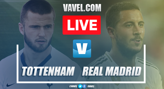 Tottenham vs Real Madrid: LIVE Stream and Score (1-0)