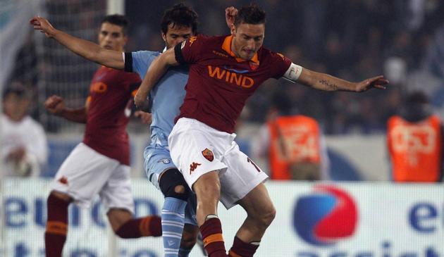 No Derby della Capitale, Roma e Lazio ficam no empate