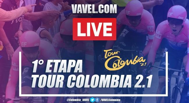 Resumen Etapa 1: Tour Colombia transmisión de Contrarreloj Tunja