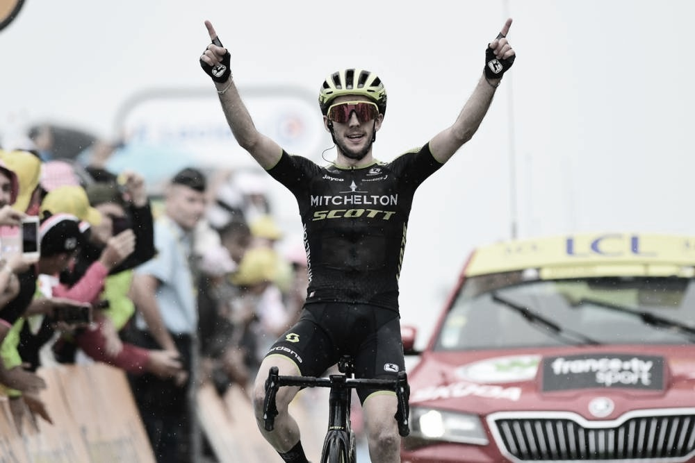 Simon Yates ganha na última etapa do Tour de France nos Pirineus