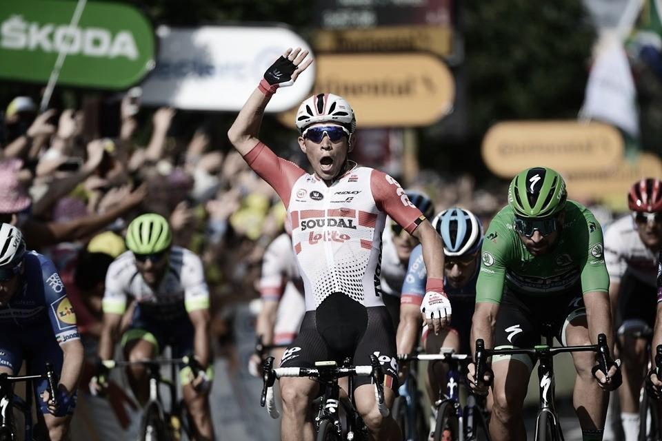 Caleb Ewan ganha segunda etapa do Tour de France em 2019 antes das montanhas dos Alpes