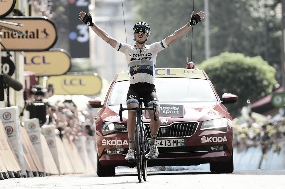 Trentin ganha em dia de 'descanso' do pelotão na 17ª etapa do Tour de France