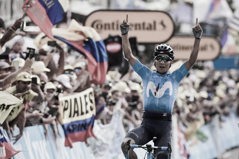 Quintana reage e vence 18ª etapa; Alaphilippe mantém camisa amarela do Tour de France