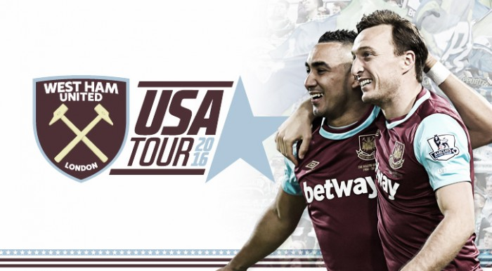 "Noble ""over the moon"" for Hammers to return to America"
