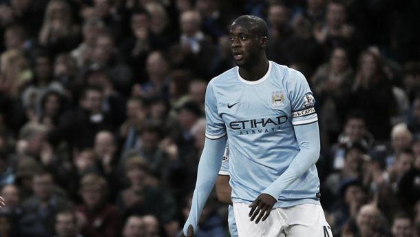 Yaya Touré pode deixar o Manchester City na próxima janela de transferências