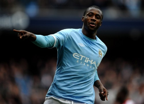 Toure double moves City closer to the title