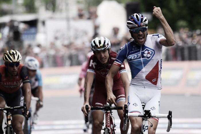 Giro d'Italia, Pinot vince ad Asiago. Quintana ancora in rosa, ma corsa nelle mani di Dumoulin