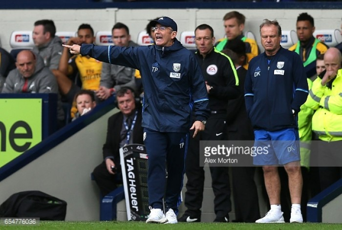 Tony Pulis: Meeting after Goodison defeat helped West Brom beat Arsenal