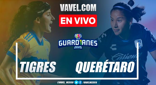 Resumen y goles: Querétaro 0-2 Tigres en Semifinales de Liga MX Femenil 2020
