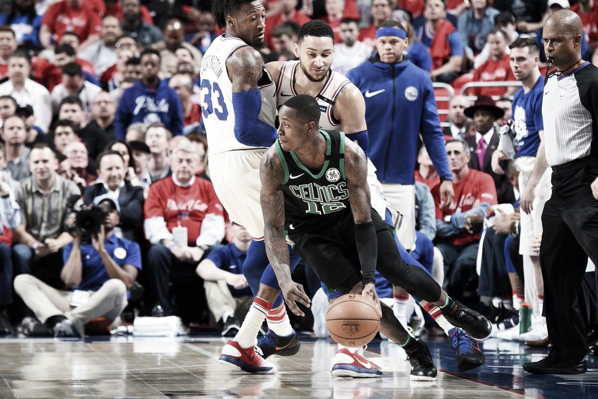 NBA playoffs, Philadelphia d'orgoglio in gara-4 contro i Celtics (103-92)