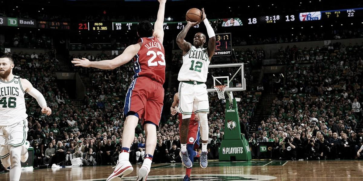 NBA playoffs - Difesa e triple: Boston annienta i Sixers in gara-1 (117-101)