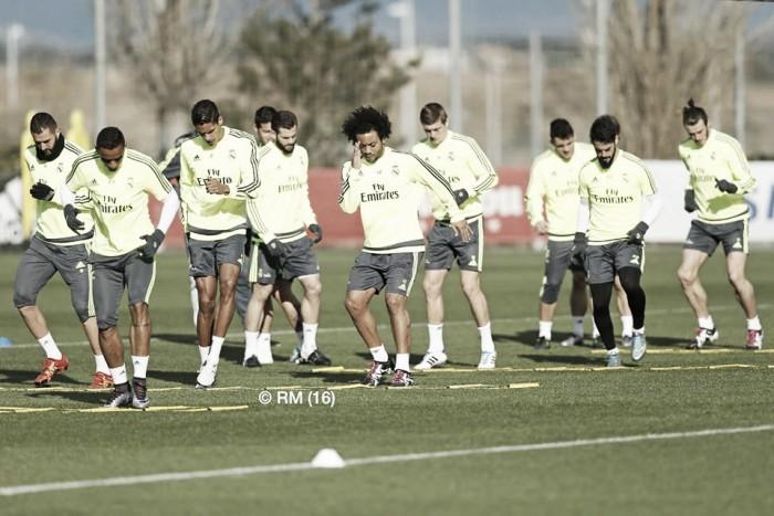 Nueva sesión de entrenamiento pensando en el Sporting