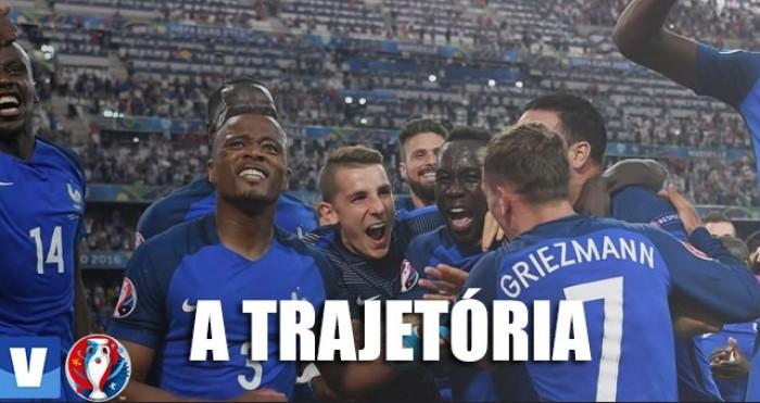 Relembre a trajetória da França até a decisão da Eurocopa
