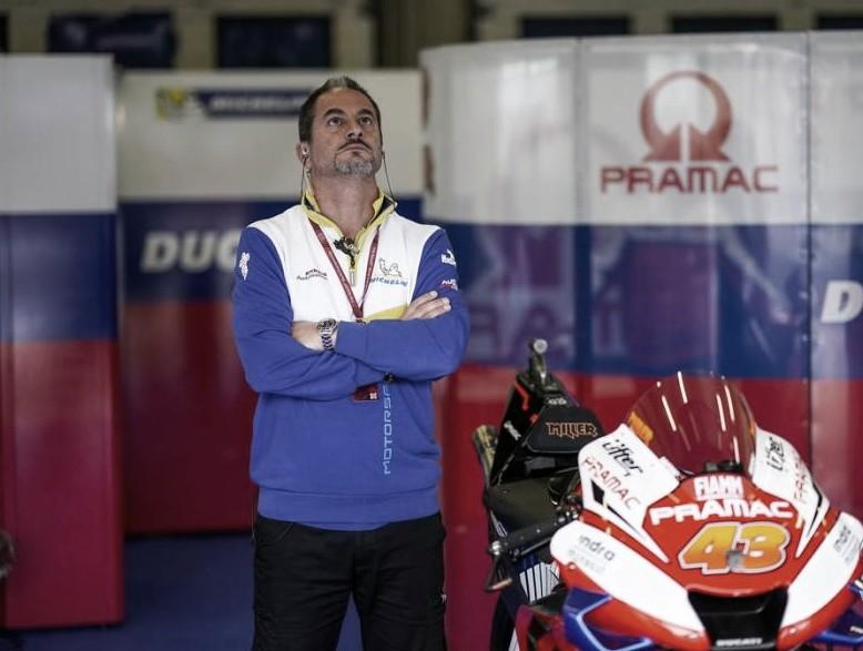 """Piero Taramasso: """"No hay problemas de neumáticos para Qatar"""""""