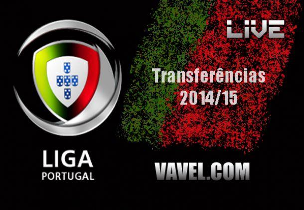 Mercado de transferências: Primeira Liga, temporada 2014/15