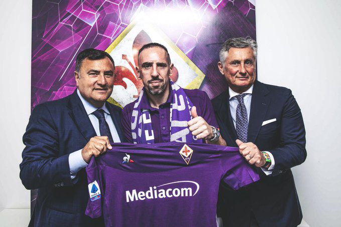 Ribéry na Fiorentina