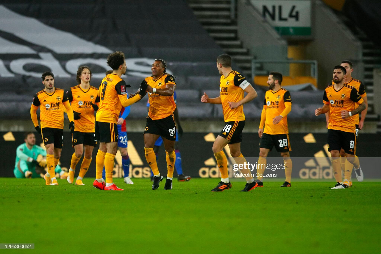 Wolves 1-0 Crystal Palace: Traore strike the difference in cup tie