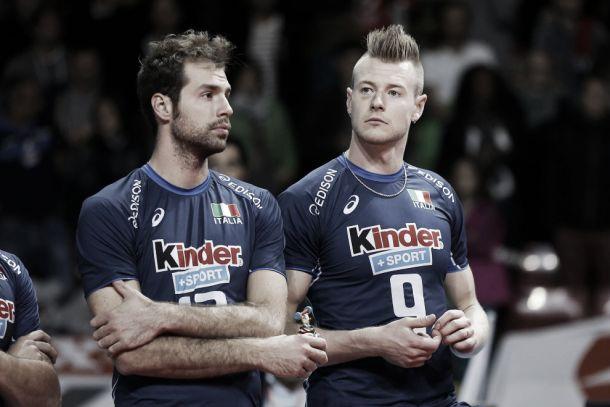 L'esclusione di Travica, Zaytsev, Sabbi e Randazzo turba la viglia di Final Six di World League dell'Italia