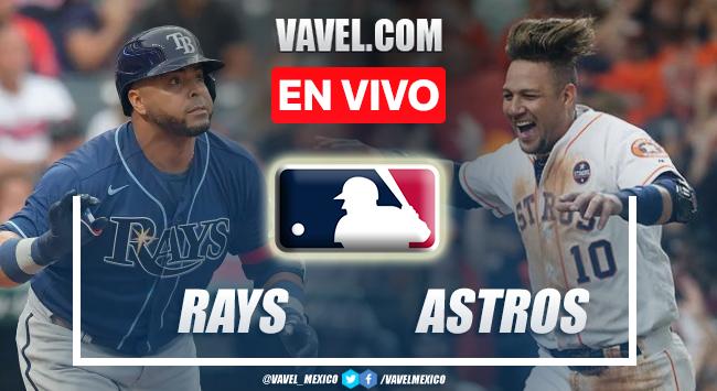 Resumen del Tampa Bay Rays 3-4 Houston Astros en MLB 2021