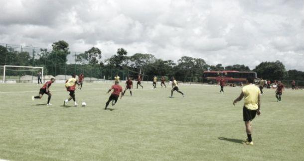 Eduardo Baptista promove mudanças no Sport no último treino antes de enfrentar o Grêmio