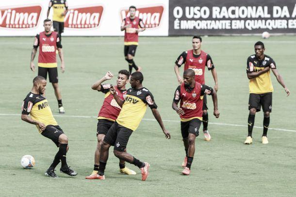 Com time titular completo, Atlético-MG recebe Tupi na estreia do Campeonato Mineiro 2015