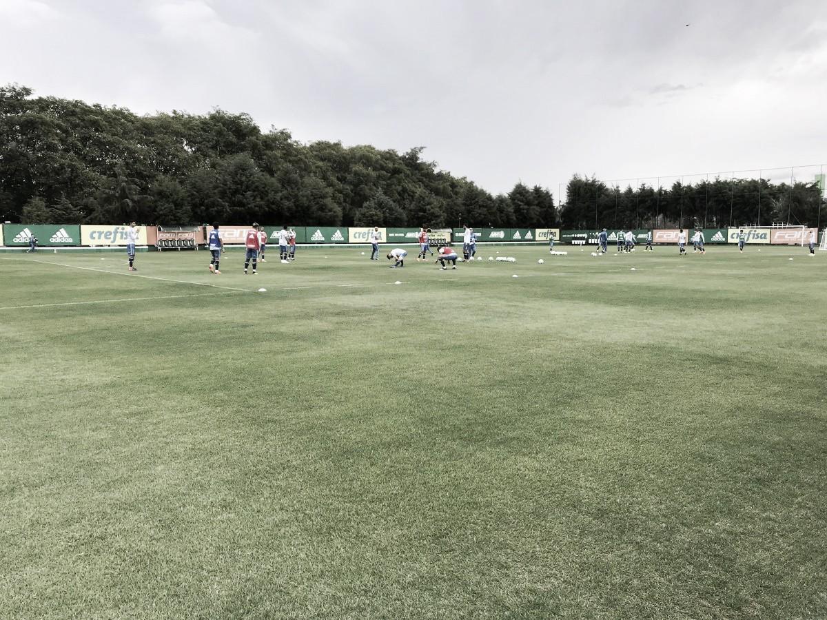 Auxiliar de Felipão, Paulo Turra esboça equipe titular do Palmeiras com novidades