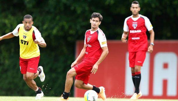 Ganso volta aos treinos e está confirmado para encarar a Portuguesa no sábado