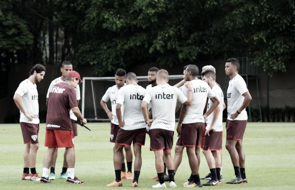 Após revés na Copa do Brasil, São Paulo realiza primeiro treino concentrado na Sul-Americana