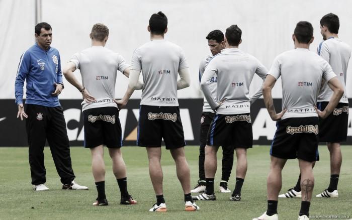 Corinthians encerra preparativos para enfrentar o Santa com agressão de Vilson em Marciel