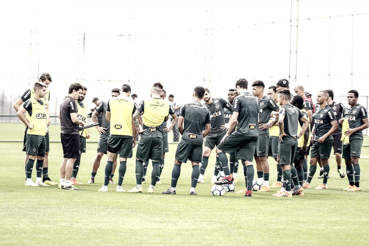 Thiago Larghi monta Atlético-MG com Nathan e Tomás Andrade no time titular