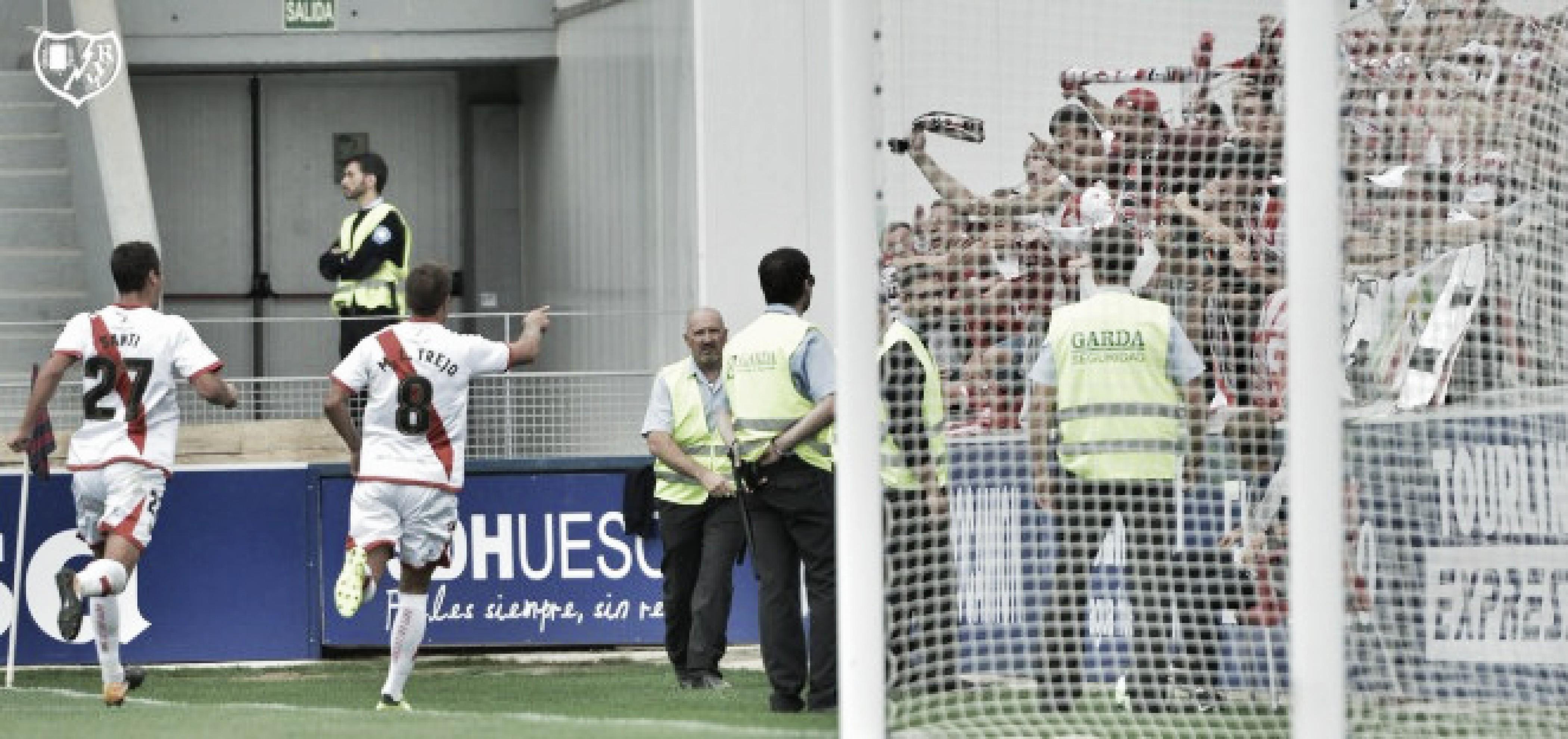 Entradas a la venta para el Huesca - Rayo Vallecano