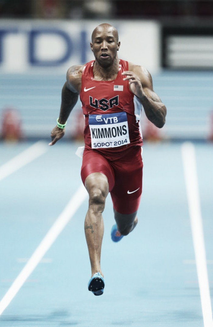 Kimmons sancionado por dopaje
