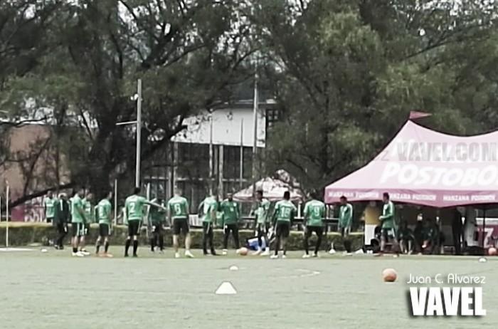 Atlético Nacional 'afila sus garras' para el duelo ante Jaguares