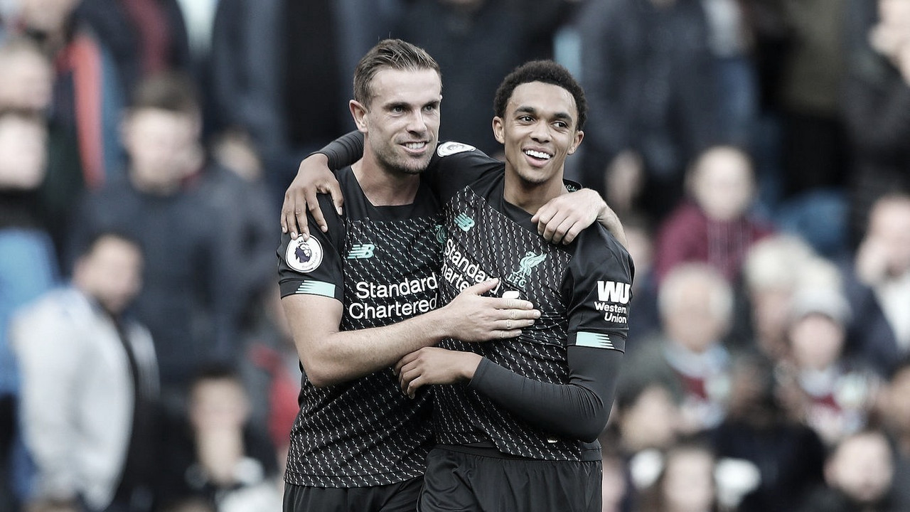 Liverpool, en la cima