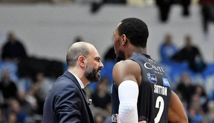 Legabasket Serie A - Trento mette la sesta, Caserta al tappeto (76-66)