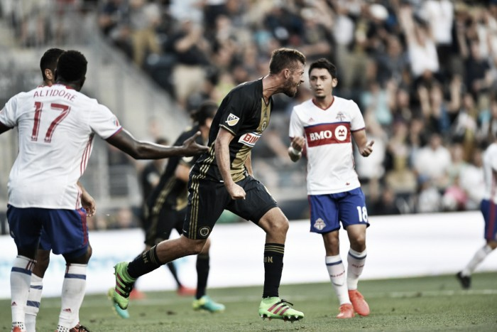 Sebastian Giovinco scores again as Toronto FC outclass Philadelphia Union 3-1