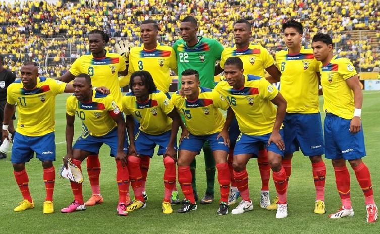 Selección Ecuatoriana baila en las duchas de Boca Ratón (VIDEO)