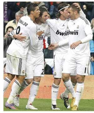 Cristiano, Higuaín y Benzema: el tridente más goleador en la historia de la Liga