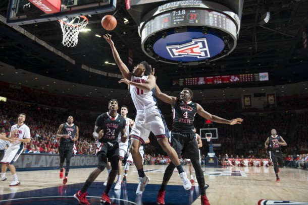 13th Ranked Arizona Wildcats Fight Off Tough Fresno State Bulldogs, Winning By 13