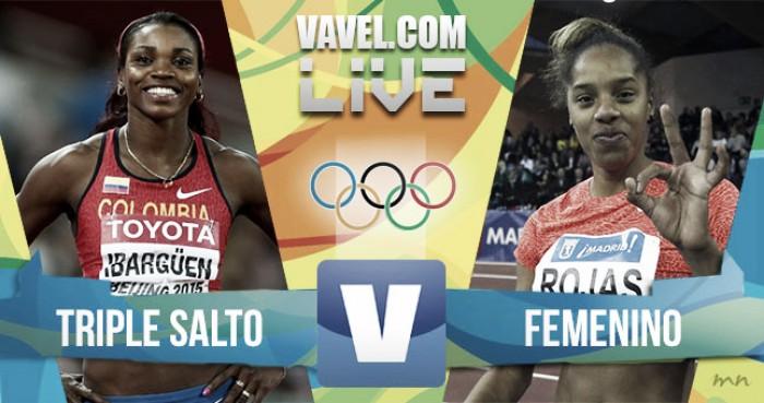 Salto Triple Final Olímpica conCatherine Ibargüen en Río 2016