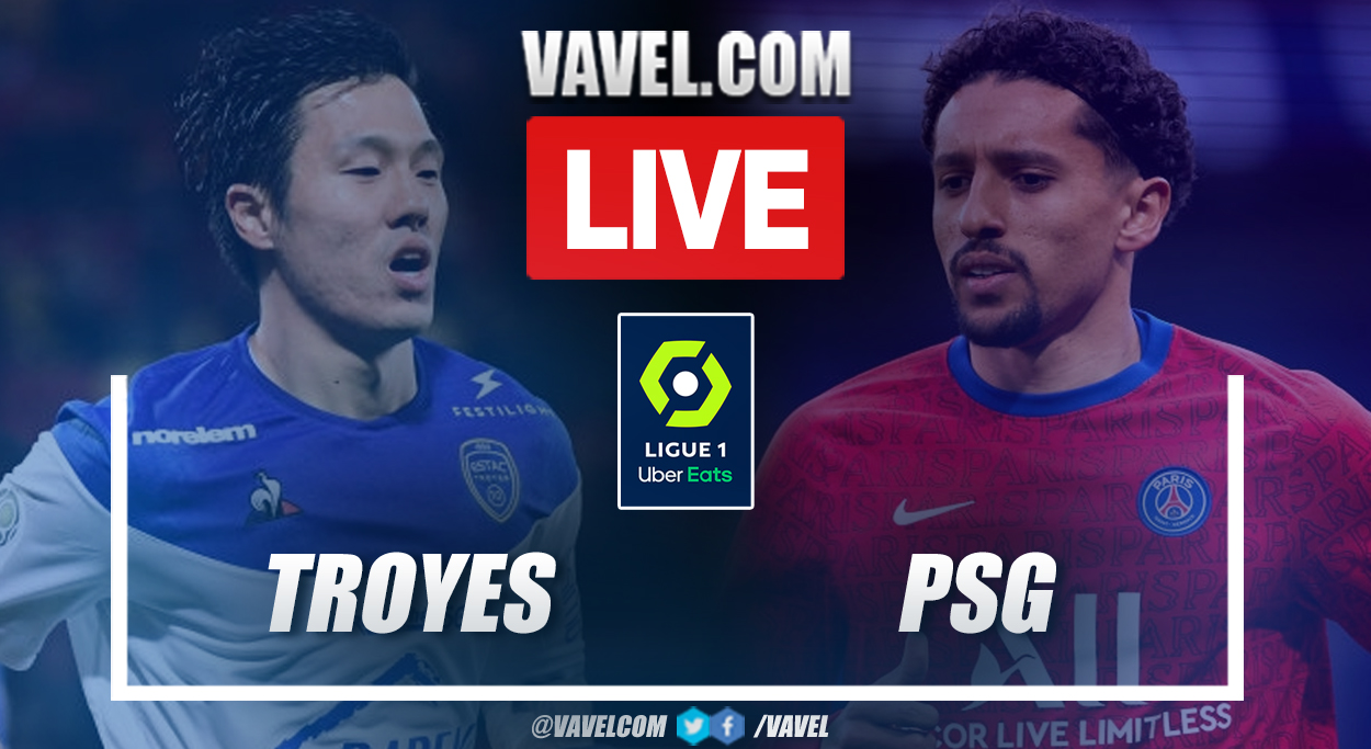 Highlights and goals: Troyes 1-2 PSG in Ligue 1 2021-22 Round 1 Match