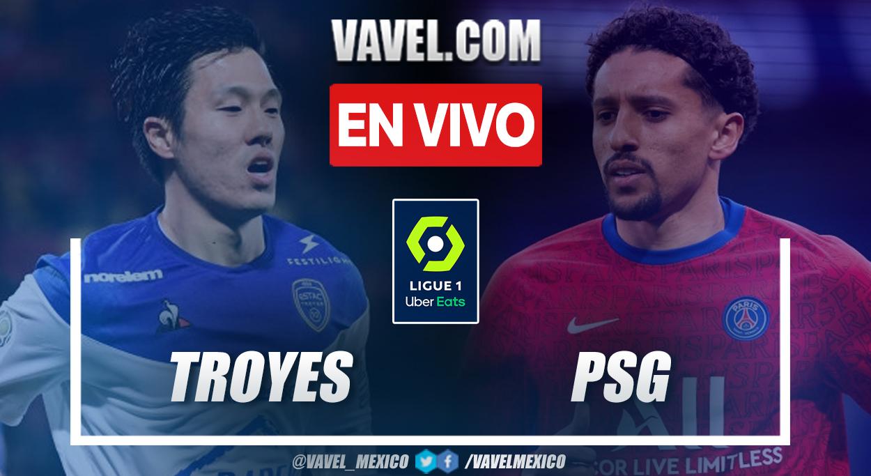 Resumen y goles: Troyes 1-2 PSG en la fecha 1 de la Ligue 1 2021-22